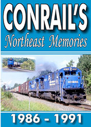 Conrail's Northeast Memories 1986 1991 2 Disc Set DVD