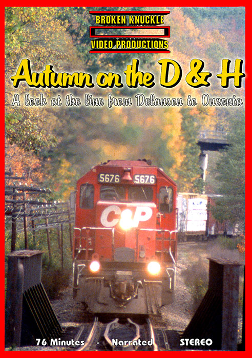 Autumn on the Delaware and Hudson DVD