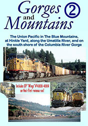 Gorges & Mountains Part 2 Union Pacific DVD