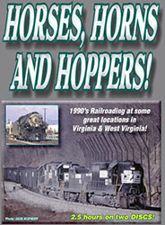Horses Horns and Hoppers DVD
