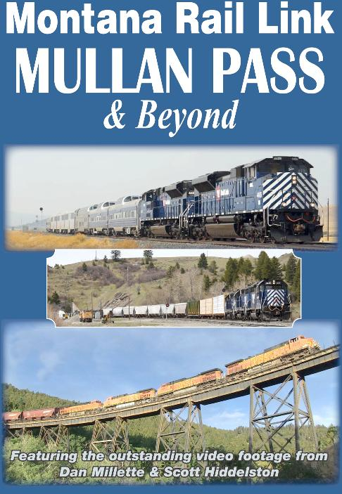 Montana Rail Link  Mullan Pass and Beyond DVD