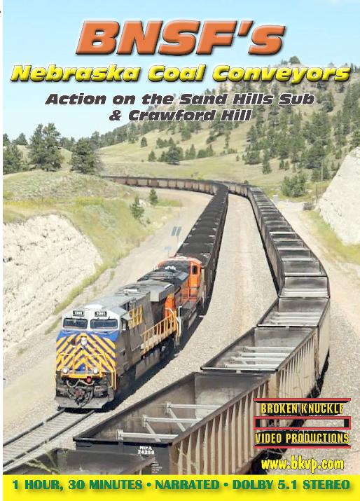 BNSF's Nebraska Coal Conveyors DVD