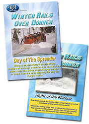 Winter Rails Over Donner 2 DVD Set - Night of the Flanger - Day of the Spreader  DVD
