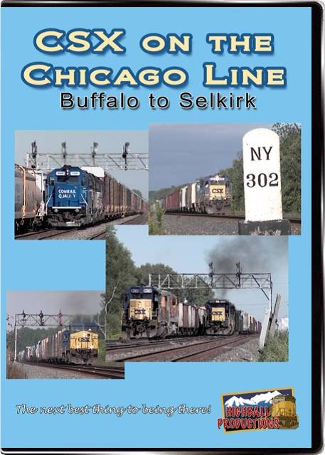 CSX on the Chicago Line