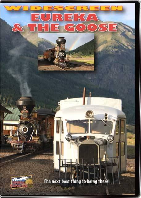 Eureka & the Goose - Durango and Silverton Scenic Railroad - 2-Disc Set DVD