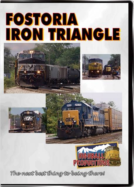 Fostoria - Iron Triangle - CSX and Norfolk Southern