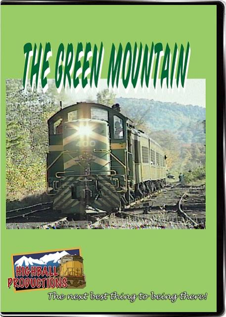 The Green Mountain - Running on former Rutland Railroad rails