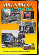 Hot Spots 1 Blue Island Illinois - Metra, Indiana Harbor Belt, CSX and Grand Trunk in Chicago