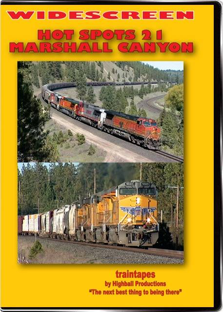 Hot Spots 21 Marshall Canyon Washington - Union Pacific and Canadian Pacific
