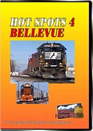Hot Spots 4 - Bellevue Ohio - A busy yard on Norfolk Southern