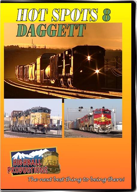 Hot Spots 8 Daggett California - The Union Pacific Salt Lake main and the BNSF Transcon come together here