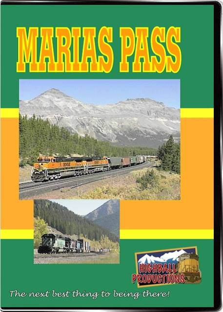 Marias Pass - BNSF crosses the Rocky Mountains