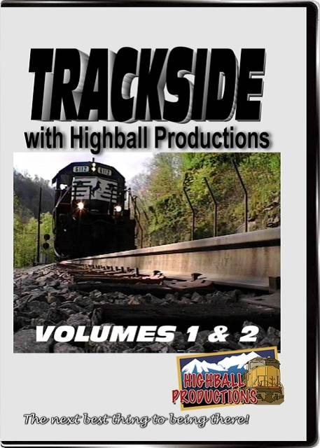 Trackside 1 & 2 - Three hours of trains from across the USA