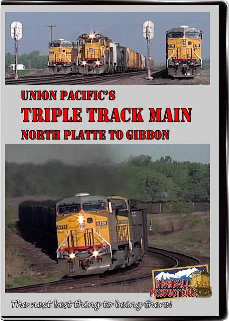 Union Pacific's Triple Track Main (North Platte To Gibbon)