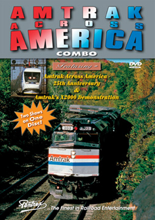 Amtrak Across America Combo DVD