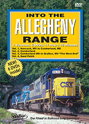 Into the Allegheny Range Part 1-4 Six Disc DVD Set