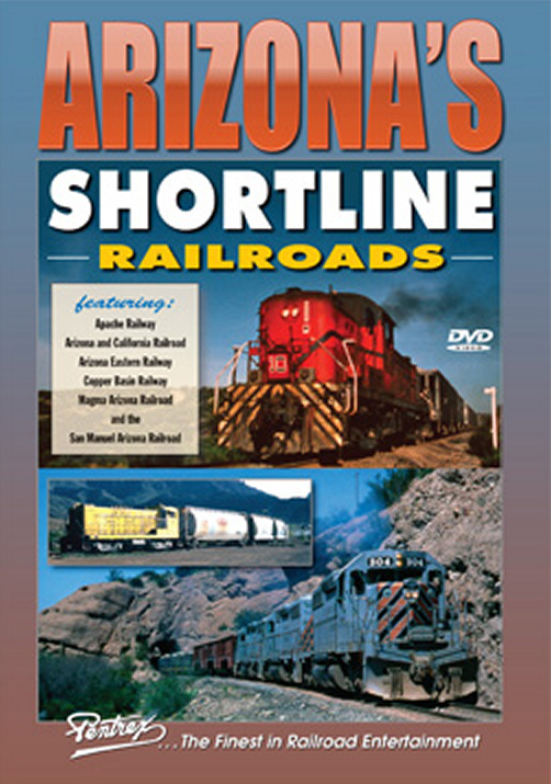 Arizonas Shortline Railroads DVD