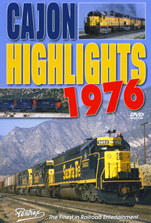 Cajon Highlights 1976 DVD