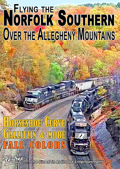 Flying the Norfolk Southern Over the Allegheny Mountains DVD