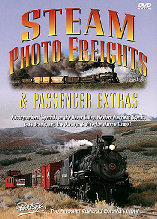 Steam Photo Freights & Passenger Extras DVD