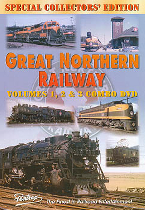 Great Northern Railway Combo DVD