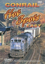 Conrail Hot Spots East DVD