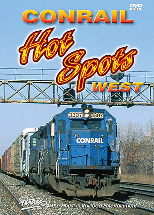 Conrail Hot Spots West DVD