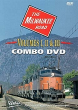 Milwaukee Road Vols I-III DVD