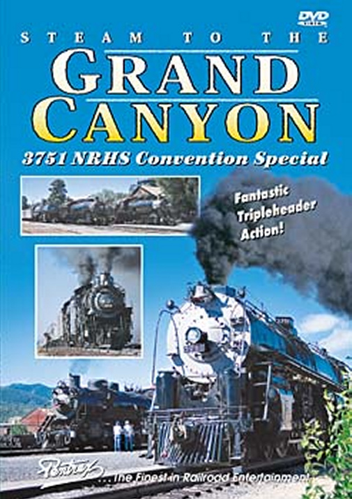 Steam to the Grand Canyon DVD
