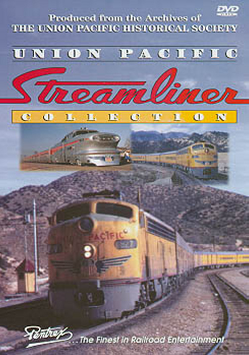 Union Pacific Streamliner Collection DVD