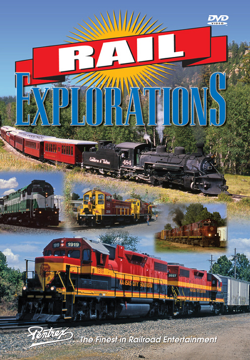 Rail Explorations DVD