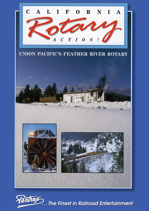 Union Pacifics Feather River Rotary DVD