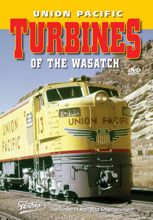 Union Pacific Turbines of the Wasatch DVD