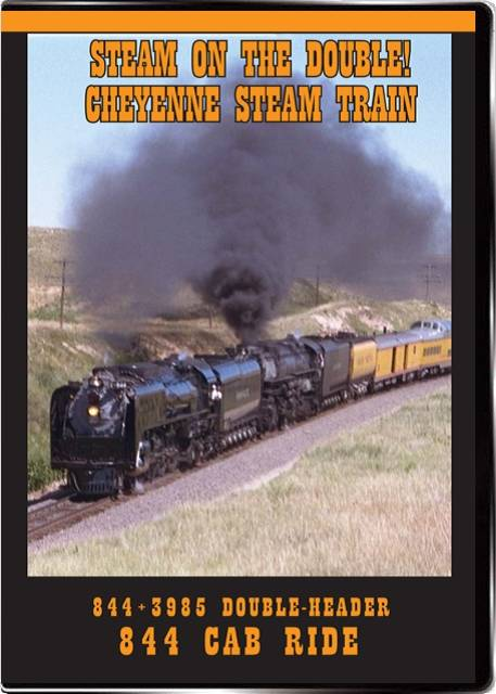 Steam on the Double and Cheyenne Steam Train DVD