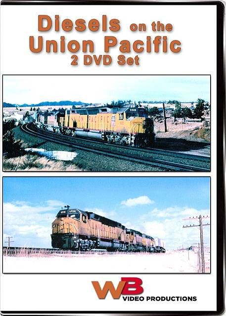 Diesels on the Union Pacific 2 Disc Set